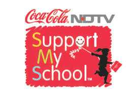 "NDTV Coca-Cola ""Support My School Programme"""