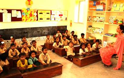 Satya Bharti School Program Year 2015-16
