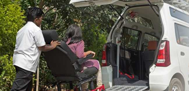 KickStart - a Cab Service for Senior Citizens and Persons with Disabilities