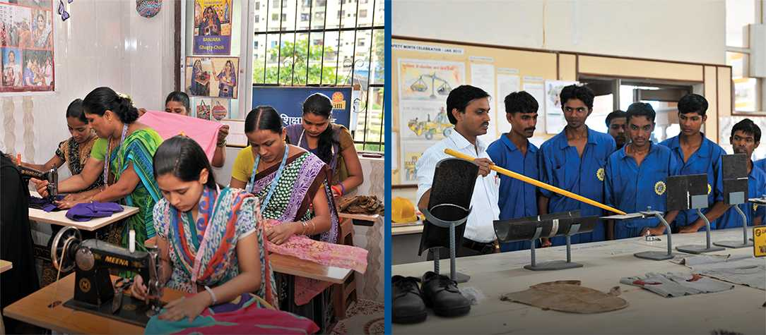 Skill building for differently abled