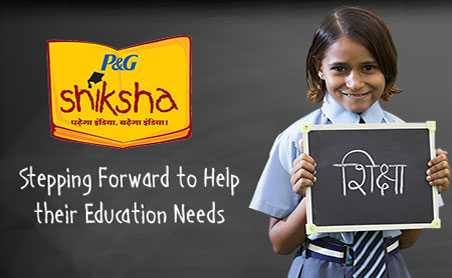 P&G Shiksha: Build & Support Schools