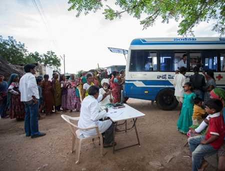 NATCO Mobile Health Clinics- CSR Projects India