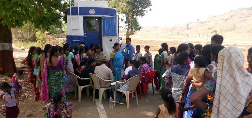 Mobile Medical Dispensary- CSR Projects India