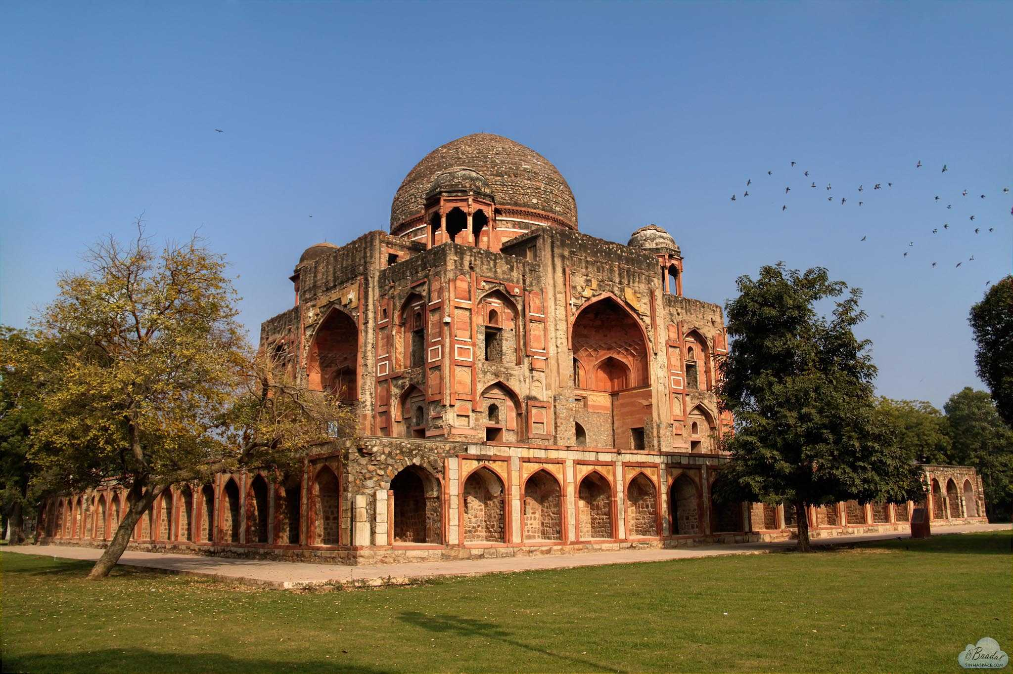 Rehabilitation of Khan-e-Khan Tomb