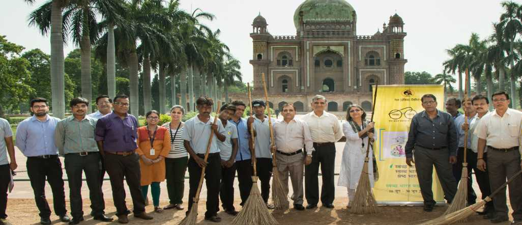 Cleanliness and Maintenance of Swachh Iconic Places
