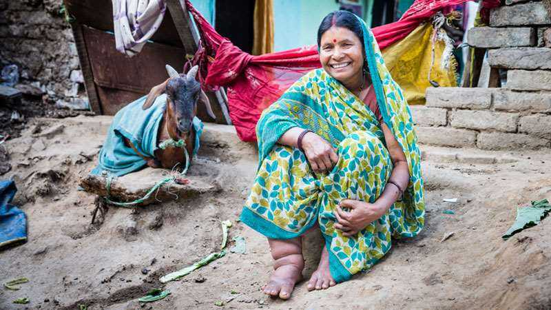 Partnering India to eliminate Lymphatic Filariasis