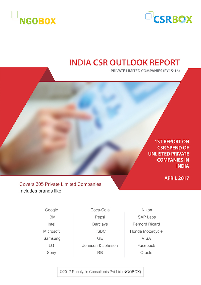 CSR Report on Unlisted Private Companies in India (2017)
