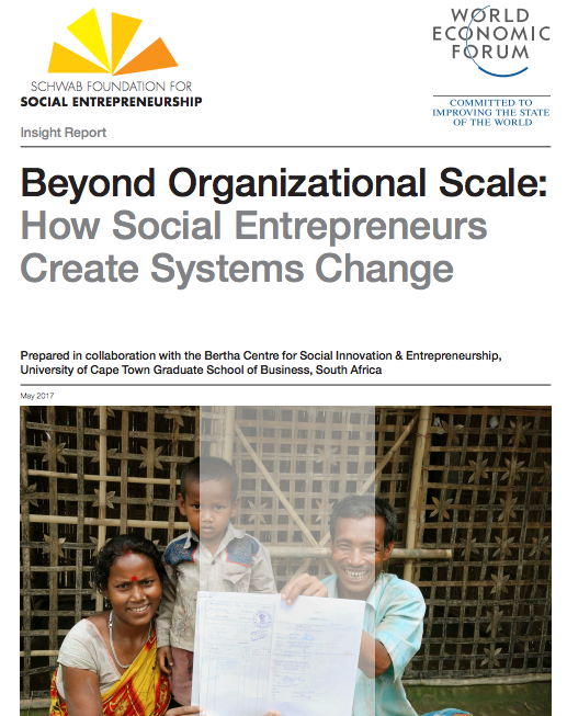 Beyond Organizational Scale: How Social Entrepreneurs Create Systems Change