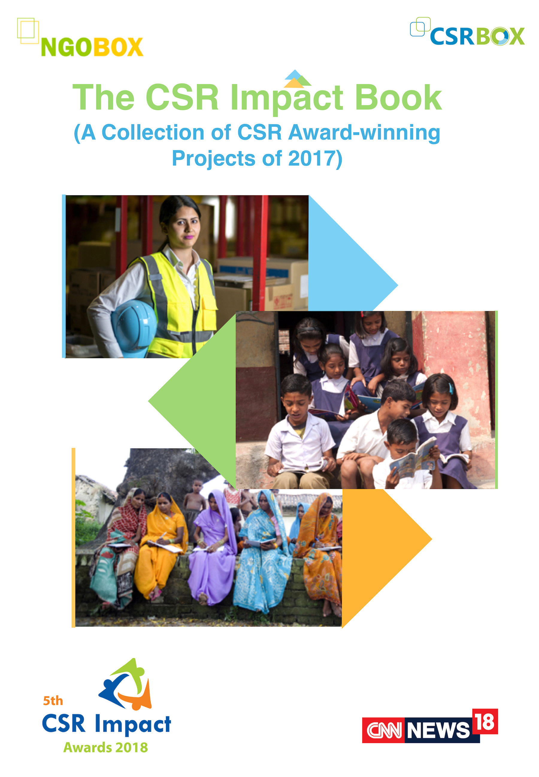The CSR Impact Book - A collection of CSR Impact Awards-winning projects of 2017