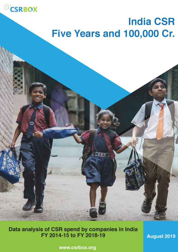 India CSR Report: Five Years and INR 100,000 Crore