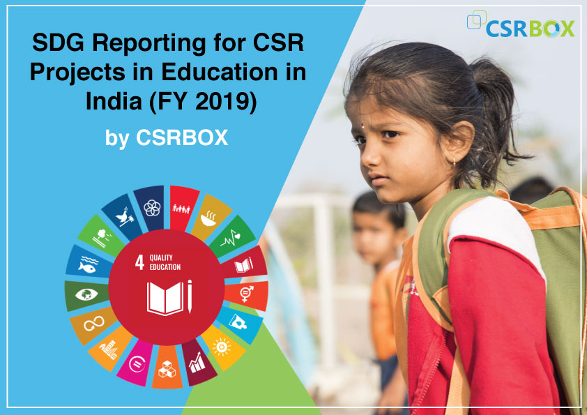 SDG Reporting for CSR Projects in Education in India (FY 2019)