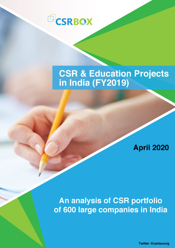 CSR & Education Projects in India (FY2019)
