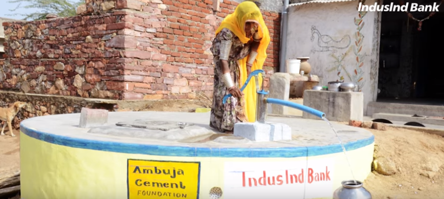A step towards Water Stewardship- A CSR initiative of IndusInd Bank
