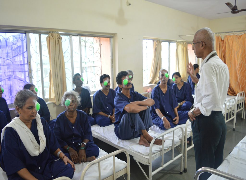 'Share Your Care' a program of Bhaktivedanta Hospital, a project of Sri Chaitanya Seva Trust