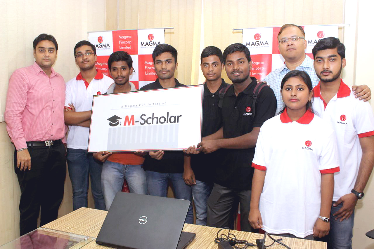 Magma Fincorp - Impacting the lives of the underprivileged students with M-Scholar Programme