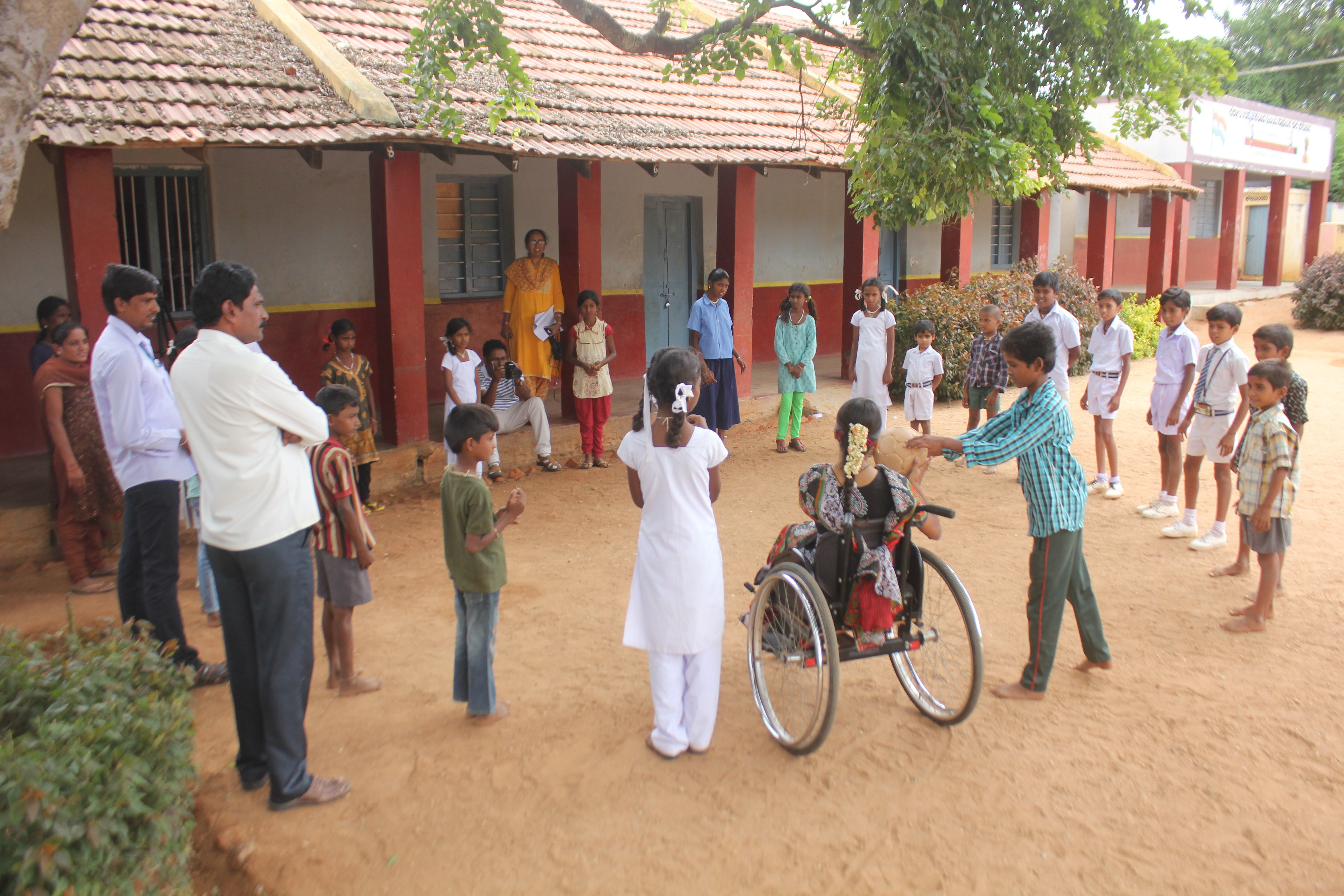 Learning Together; Playing Together: Towards Inclusive Model Govt. Schools