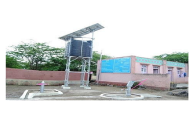 Solar Dual Pump – Community Drinking And Sanitation Water Project