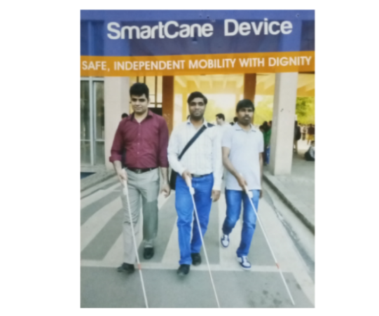 Kit, Content & Confidence for a million Visually Impaired Persons