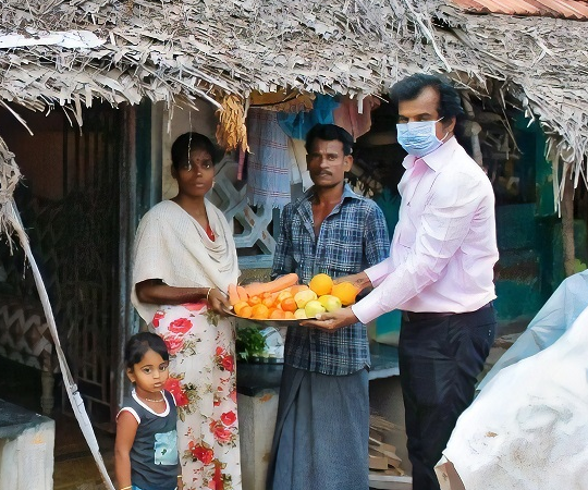 Covid relief fund - Mobile Vegetable Bank for Pregnant Women from Marginalized Poor communities