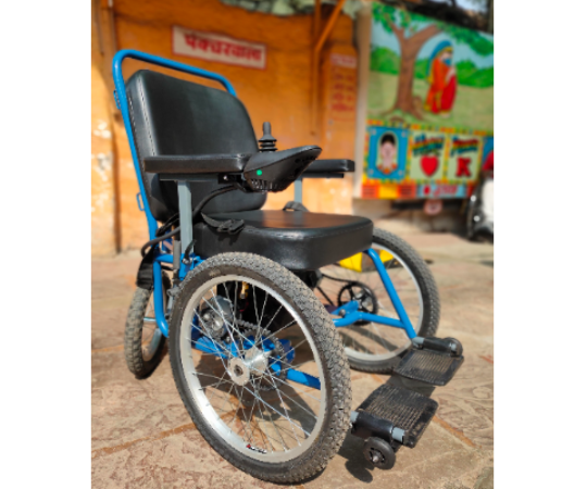 Project Vidya Rath: Powered wheelchair to enable education