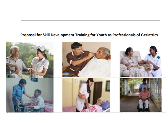 Skill Development Training for Youth as Professionals of Geriatrics