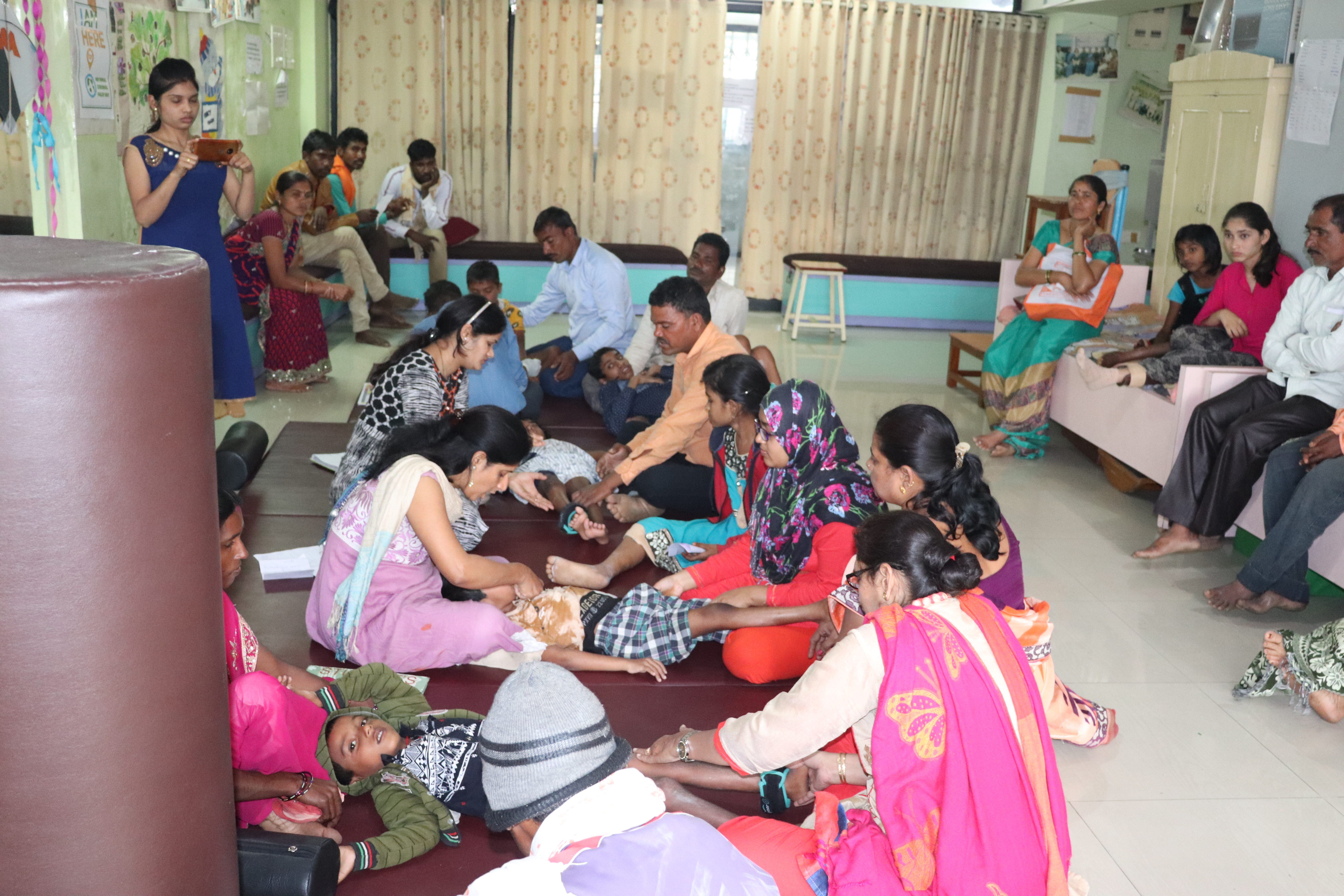 Comprehensive Medical Care and Inpatient rehabilitation centre for children with disabilities