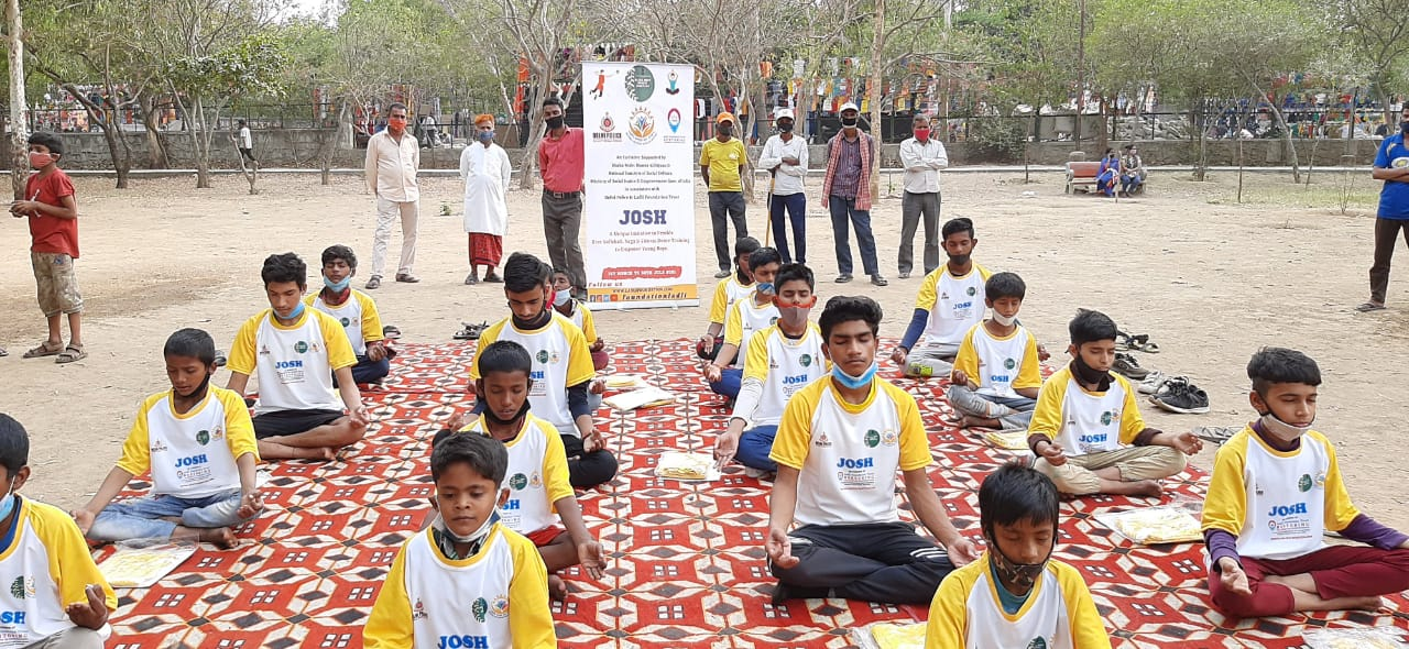 Project JOSH - Diverting Young Minds from substance abuse & Crimes