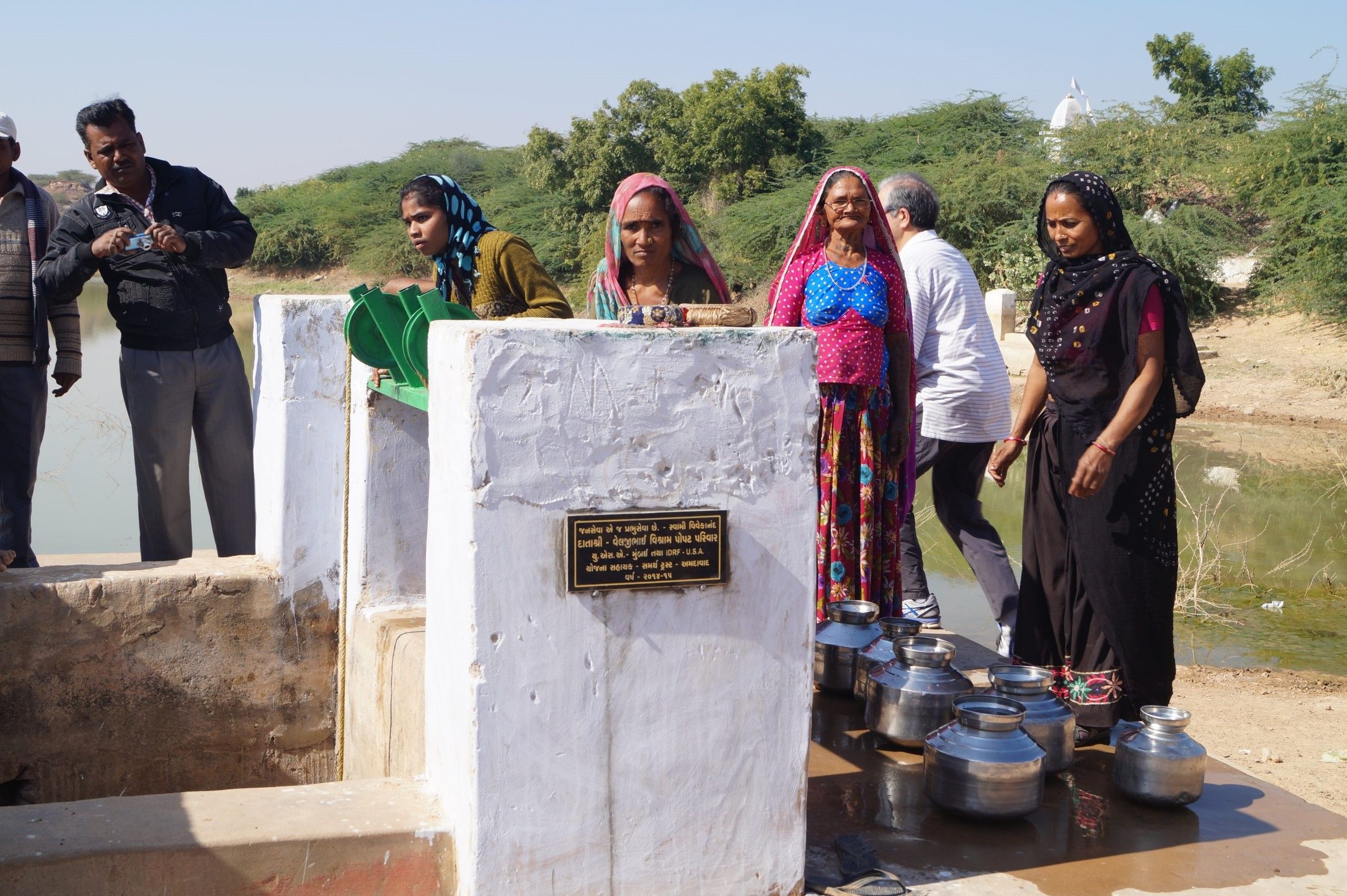 Creating  31 Water Positive villages and hamlets in Kutch