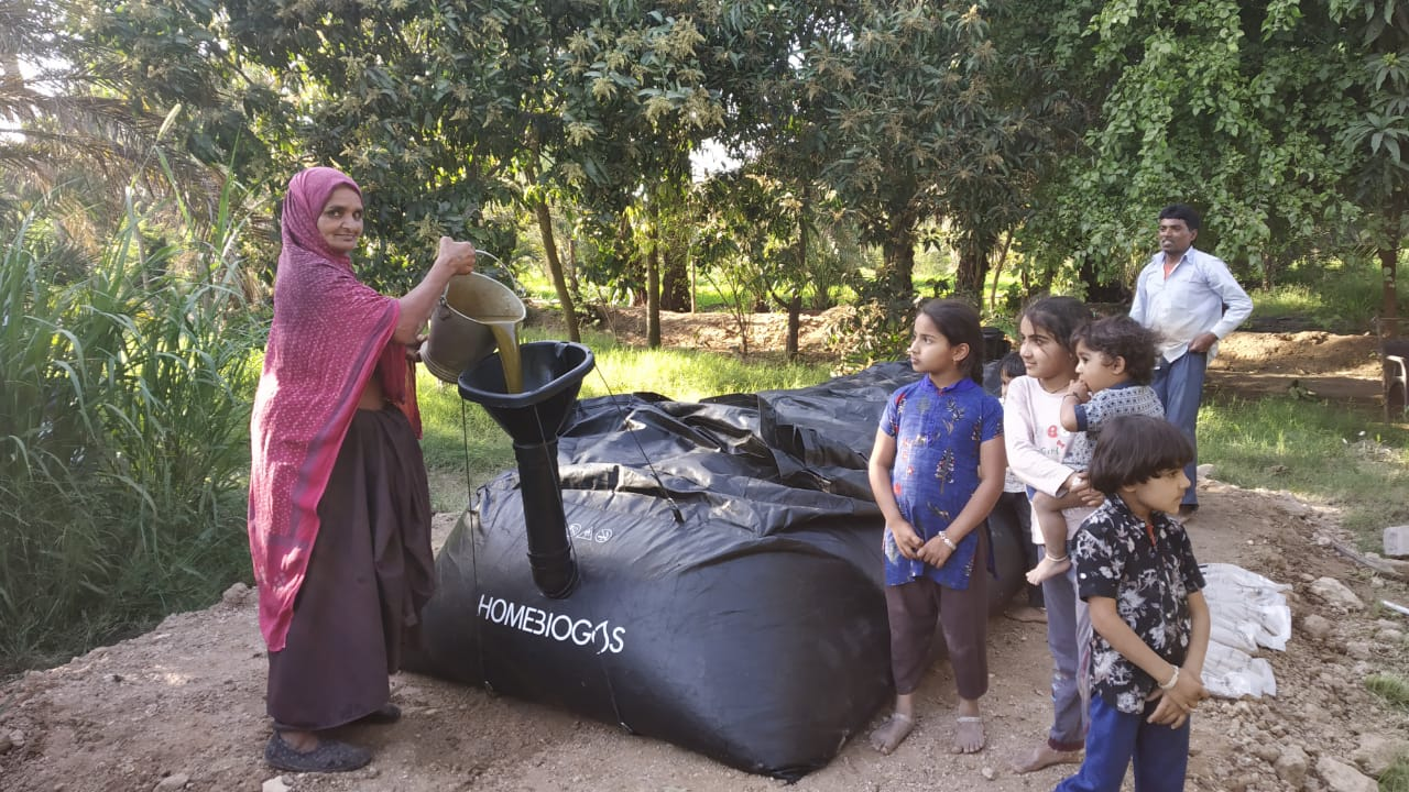 Changing Cooking Behaviour of  Rural Families in Mudra through HomeBiogas