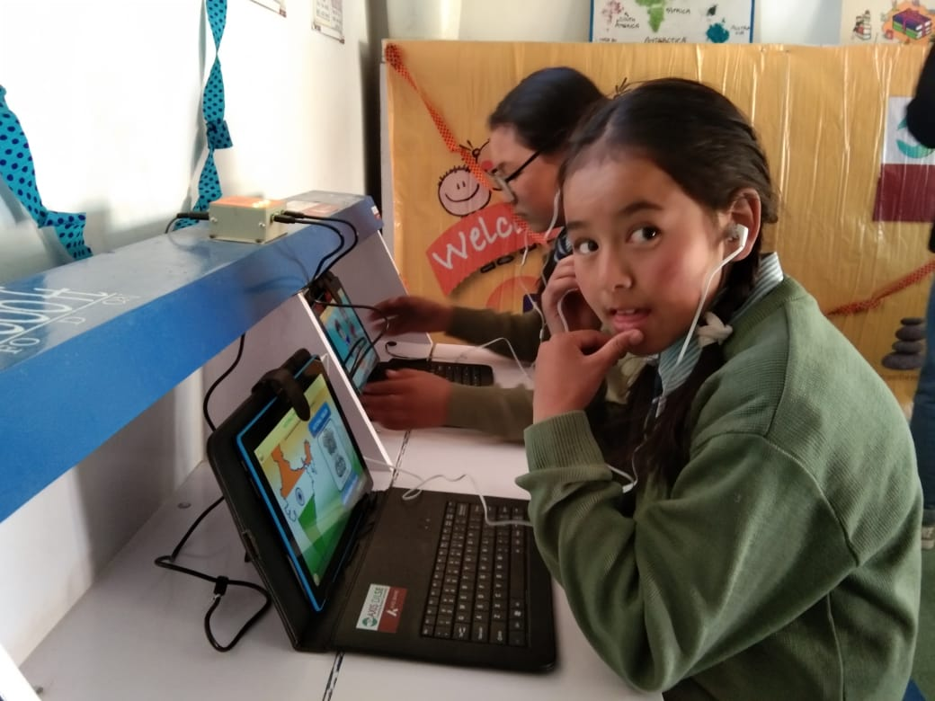 DigiLab@17000ft –Solar Powered Digital Learning Solution for off-grid and off-network regions