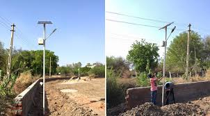 Solar Street Light & Micro Hydel Project