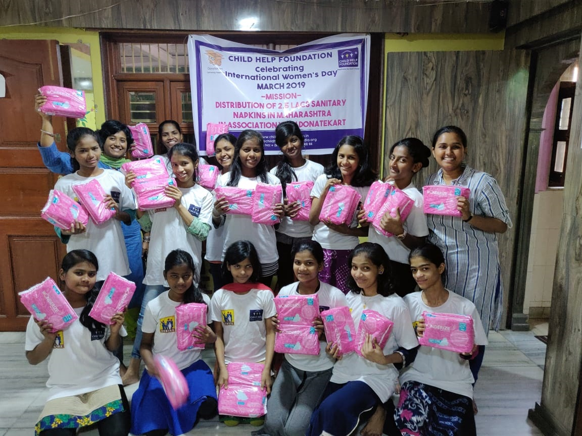 Menstrual Hygiene Management in Government Ashram schools - Palghar