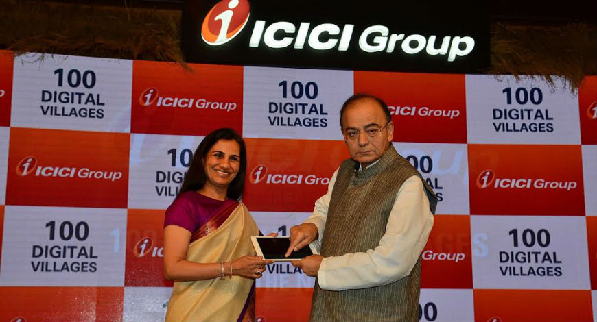 ICICI Group dedicates 100 'ICICI Digital Villages' to the nation