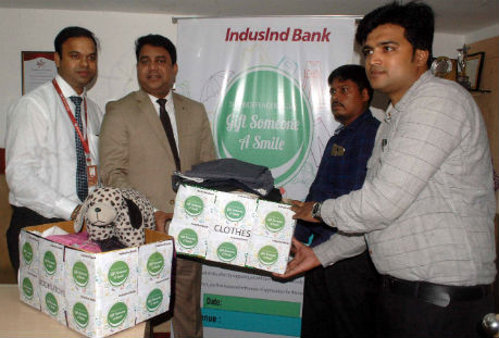 Gift a Smile - a CSR initiative by IndusInd Bank in states of  Bihar, Jharkhand, West Bengal, Odisha, Assam, Tripura, and Chhattisgarh.