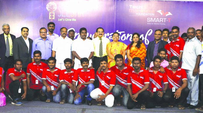 Seesha, Tech Mahindra inaugurate Smart-T Center for unemployed youth