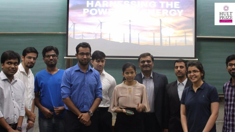 IIMA students pitch for electricity from crop residue, solar powered irrigation for Hult Prize