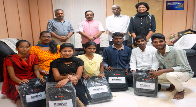 Learning kits distributed to trainees
