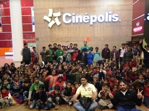 Cinepolis hosts special screening for underprivileged kids with- Lets All Go to Cinepolis-