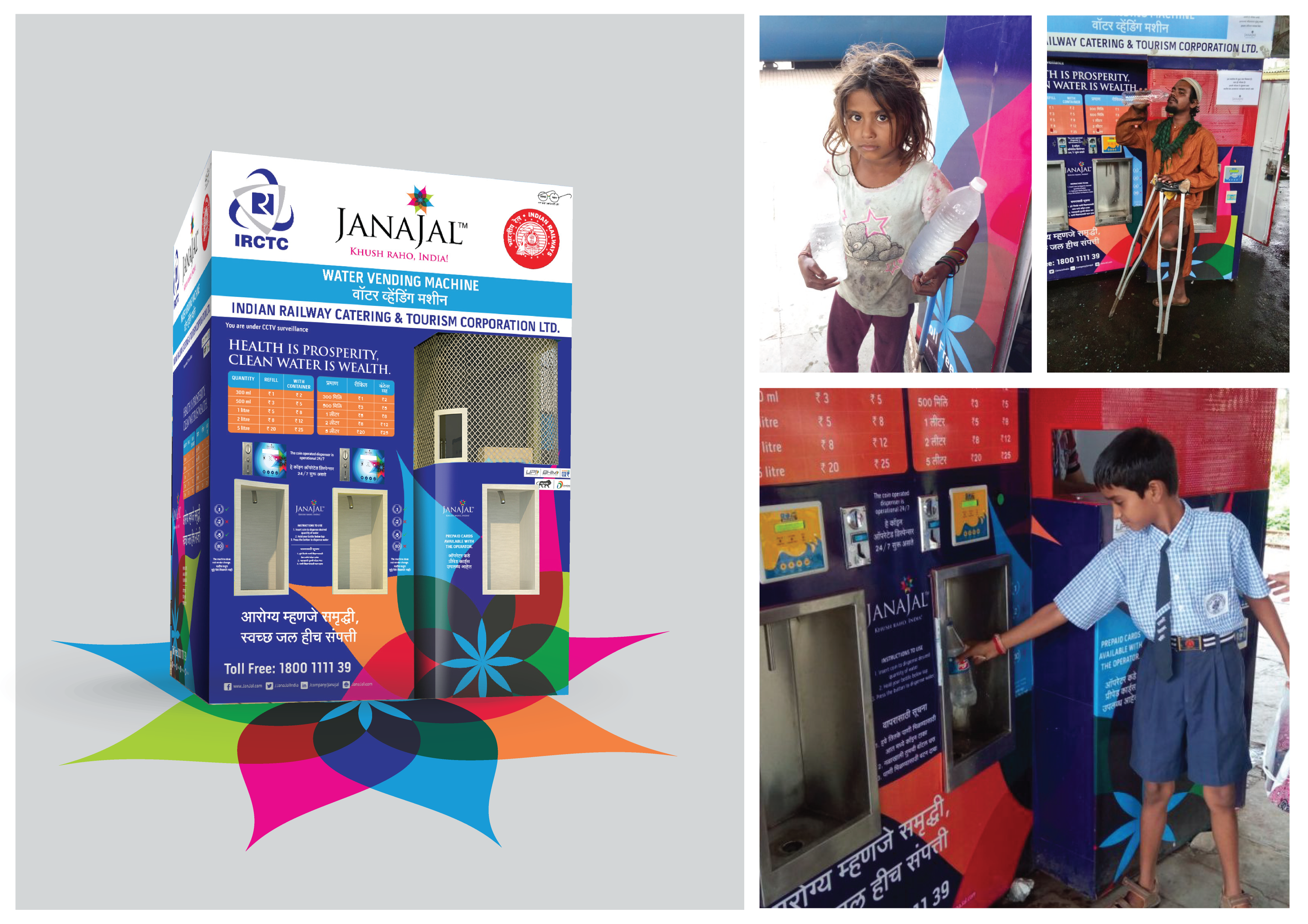 JanaJal commissions Water ATMs in association with IRCTC across Mumbai