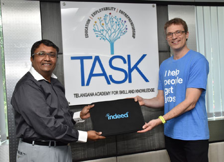 Indeed inks pact with TASK to support skill development in Telangana