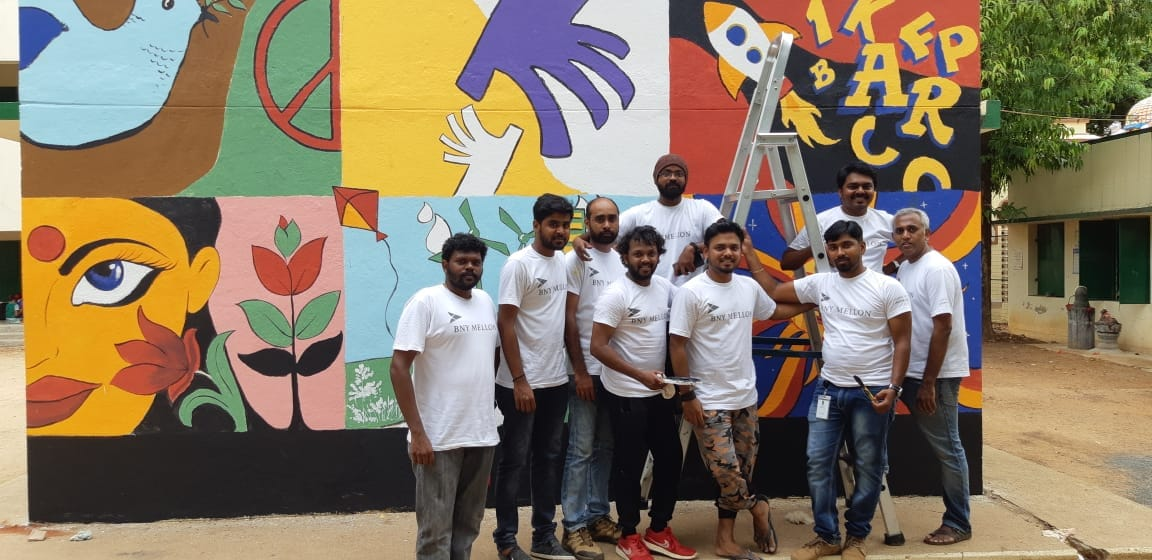"Employees of BNY Mellon in India Volunteer Over 23,000 Hours for Inaugural ""Day of Giving"""