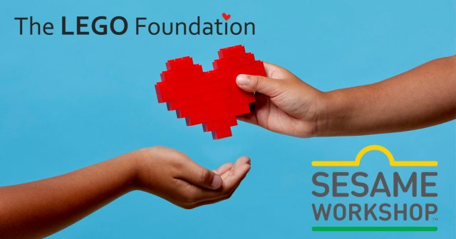 The LEGO Foundation awards $100 million to Sesame Workshop to bring the power of learning through play to children affected by the Rohingya and Syrian refugee crises