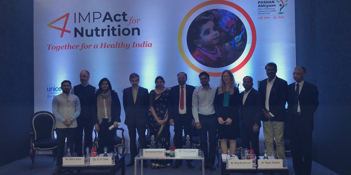 IMPAct4Nutrtion convened by UNICEF, Tata Trusts, Sight and Life, CSRBOX, CII, WeCan and NASSCOM Foundation was launched today in New Delhi.