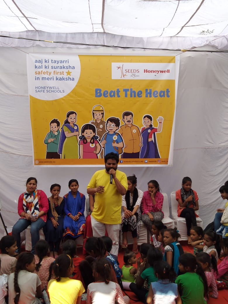 Honeywell Safe Schools Program organizes 'Beat the Heat' awareness drive in East Delhi