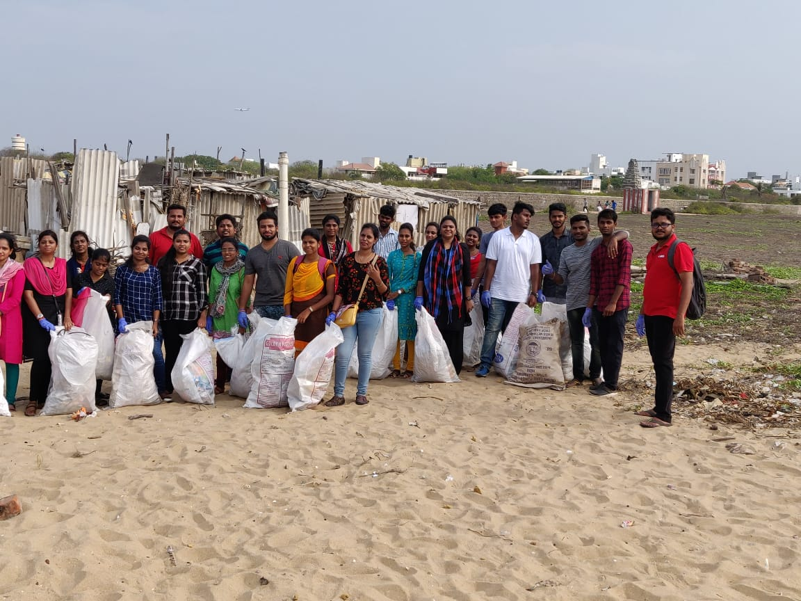 150 HGS employees volunteer for cleaner lakes and beaches in Chennai