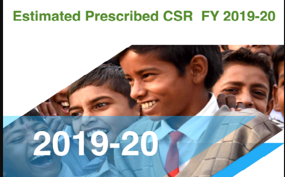 Indian Companies to Spend 11 percent more CSR fund in FY 2019 20, top 10 Companies have prescribed CSR of INR 4700 Cr.