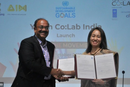 NITI Aayog, UNDP, AIM launch youth lab prog for entrepreneurs to accelerate innovation