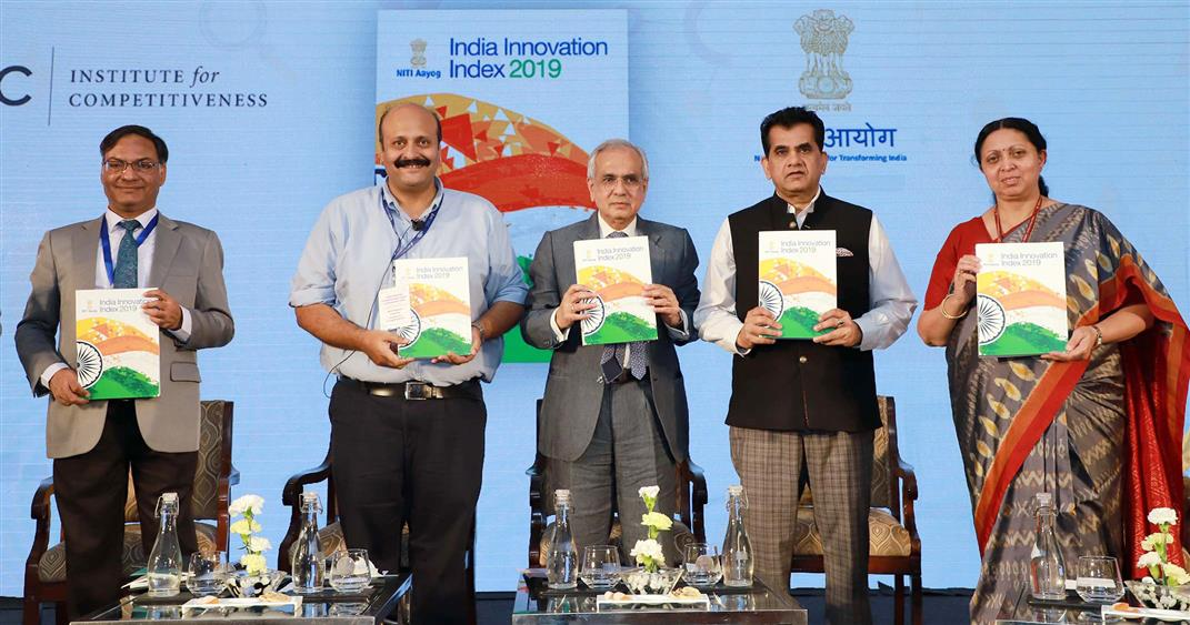 NITI Aayog launches India Innovation Index 2019