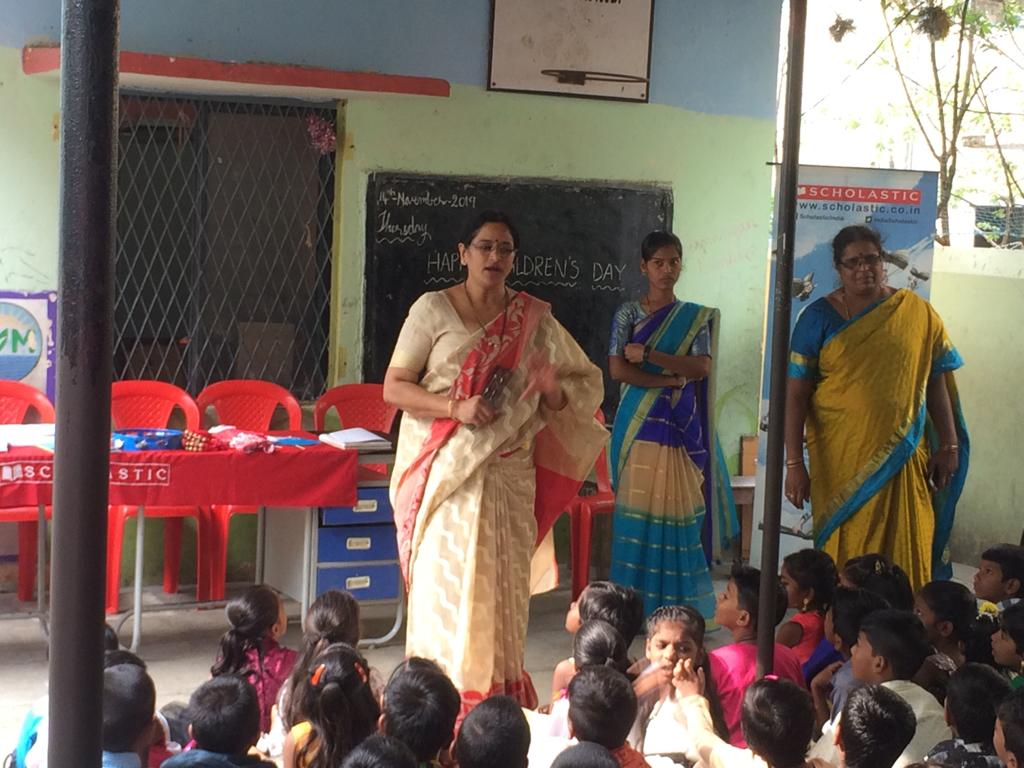 Scholastic India celebrated Children's day with Underprivileged kids across India, donated books