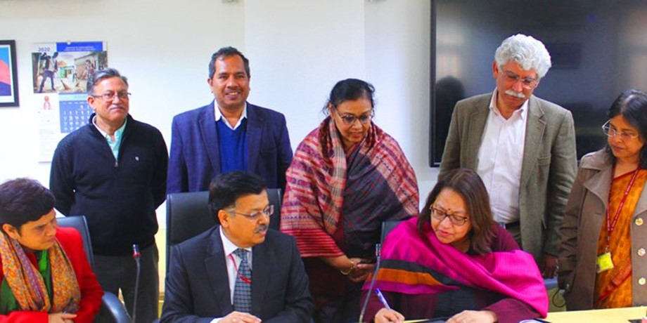 MoRD signs MoU with Bill and Melinda Gates Foundation for reducing poverty